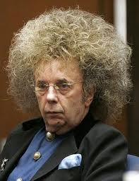 Phil Spector's Hair stops oil spill