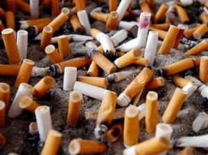 Please stop smoking, it's good for you and the environment! :)