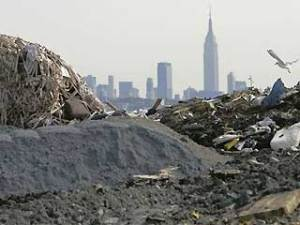 Landfill near New York City